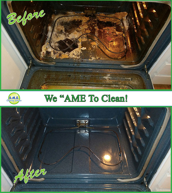 Clean Over Before & After