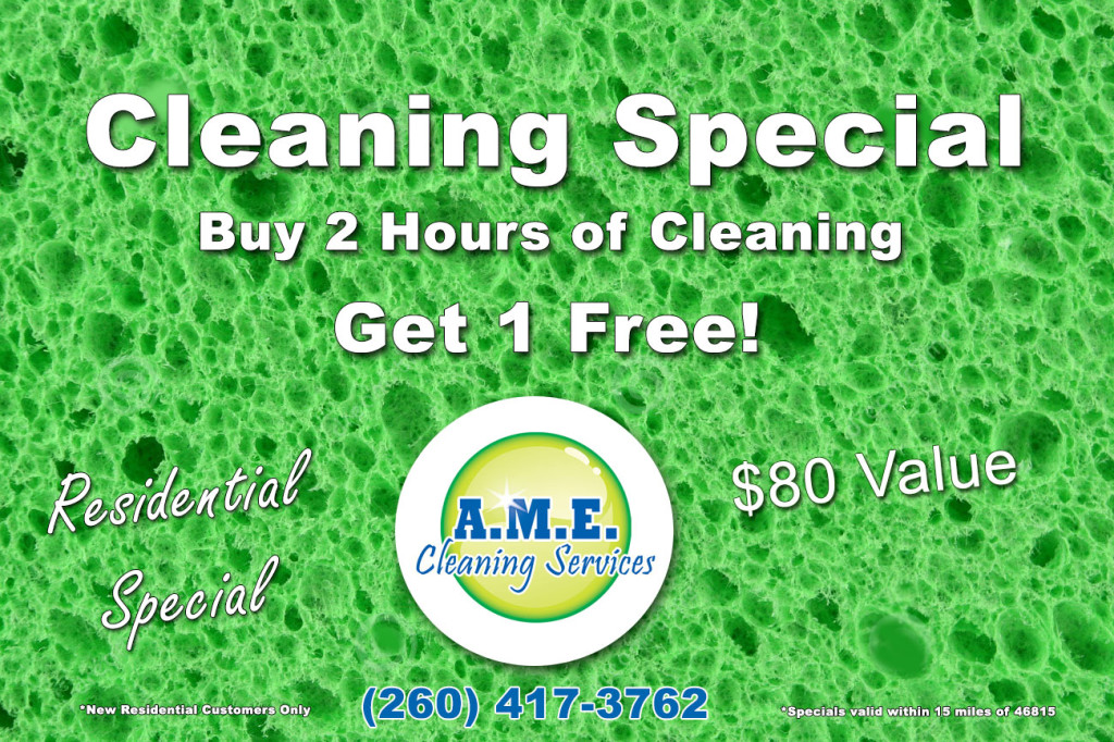 Fort Wayne Cleaning Special
