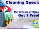 RESIDENTIAL CLEANING SPECIAL